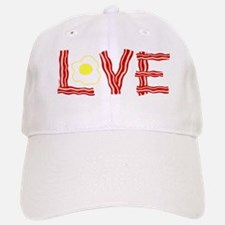 Love Bacon and Eggs Baseball Baseball Cap