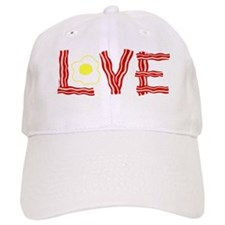 Love Bacon and Eggs Baseball Cap