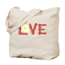 Love Bacon and Eggs Tote Bag