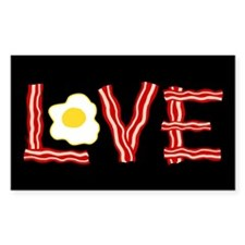 Love Bacon and Eggs Decal
