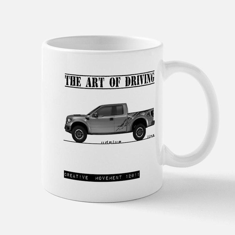 Driving Art Pickup Truck Mug