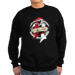 Hope Cure Oral Cancer Sweatshirt (dark)