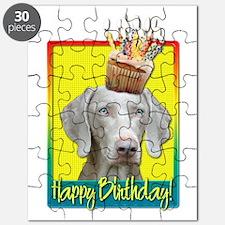 Birthday Cupcake - Weimie Puzzle