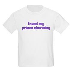 Found My Prince Charming Kids T-Shirt