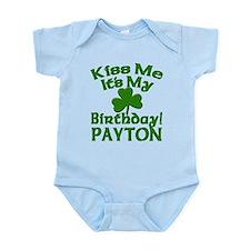 Payton Birthday Personalized Infant Bodysuit