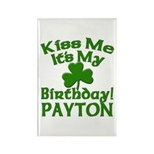 Payton Birthday Personalized Rectangle Magnet
