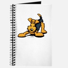 Airedale at Play Journal