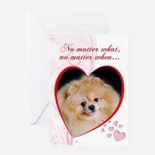 "Pomeranian ""Just Whistle"" Valentine"