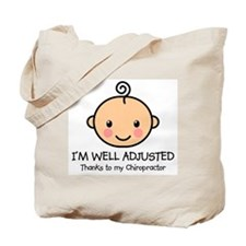 Well-Adjusted Baby (Fair) Tote Bag