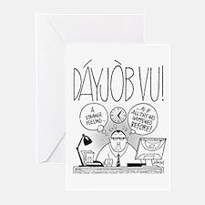 DáyJòb Vu Greeting Cards (Pk of 10)