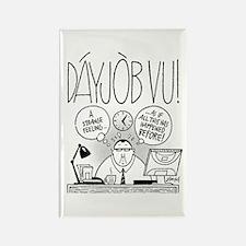 DáyJòb Vu Rectangle Magnet (100 pack)