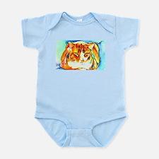 Orange Cat Infant Bodysuit