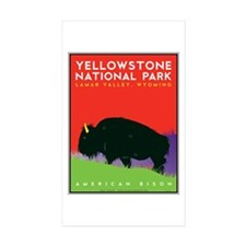 Yellowstone NP: Bison Decal