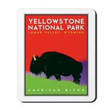 Yellowstone NP: Bison Mousepad