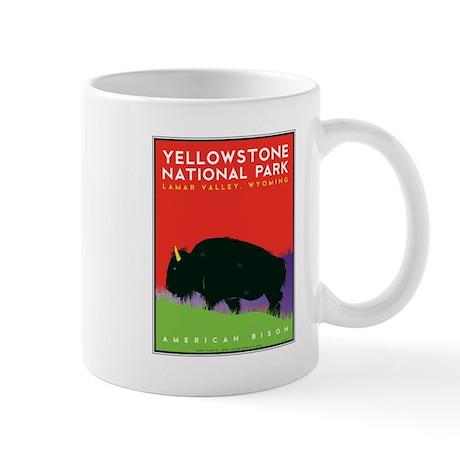 Yellowstone NP: Bison Mug