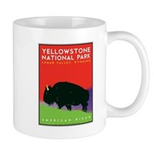 Yellowstone NP: Bison Mug