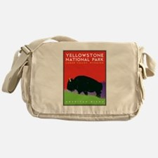 Yellowstone NP: Bison Messenger Bag