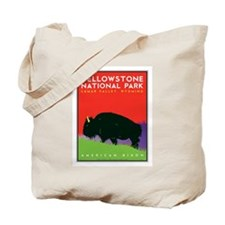 Yellowstone NP: Bison Tote Bag