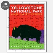 Yellowstone NP: Bison Puzzle