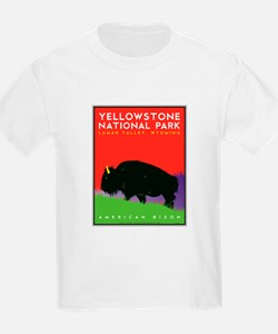 Yellowstone NP: Bison T-Shirt