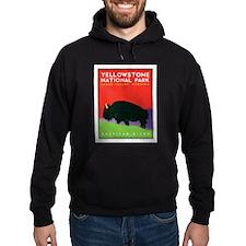 Yellowstone NP: Bison Hoodie