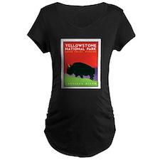 Yellowstone NP: Bison T-Shirt