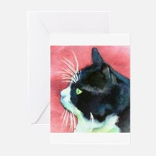 Tuxedo Cat Greeting Cards (Pk of 20)