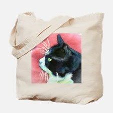 Tuxedo Cat Tote Bag