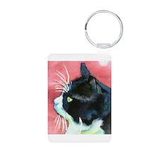 Tuxedo Cat Keychains