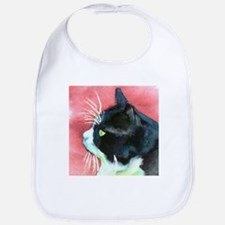 Tuxedo Cat Bib