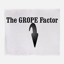 The GROPE Factor Throw Blanket