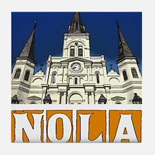 St Louis Cathedral NOLA Tile Coaster