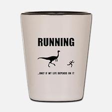 Hate Running Shot Glass