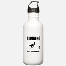 Hate Running Water Bottle