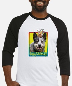 Birthday Cupcake - Cattle Dog Baseball Jersey