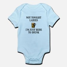 Here To Drink Infant Bodysuit