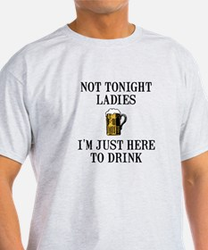 Here To Drink T-Shirt