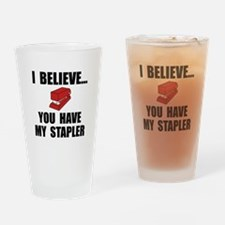 My Stapler Drinking Glass