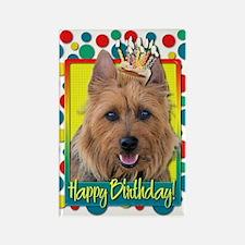 Birthday Cupcake - Australian Terrier Rectangle Ma