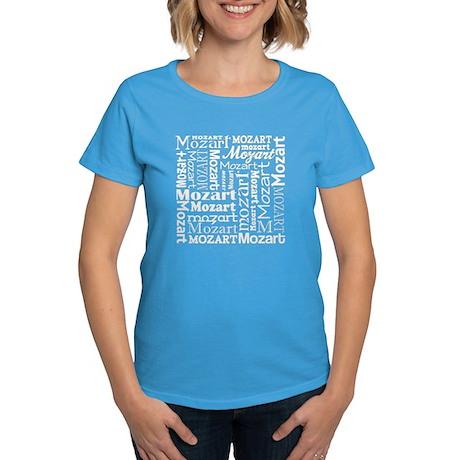 Mozart Lover Music Women's Dark T-Shirt