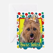 Invitation Cupcake - Australian Terrier Greeting C