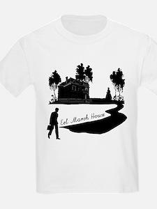Eel Marsh House in Black T-Shirt