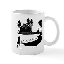Eel Marsh House in Black Mug