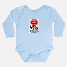 217 SexAssault Long Sleeve Infant Bodysuit
