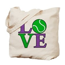 Tennis LOVE Tote Bag (on both sides)