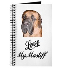 LOVE MY MASTIFF Journal