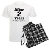 2nd anniversary Men's Light Pajamas