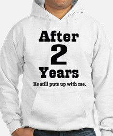 2nd Anniversary Funny Quote Hoodie