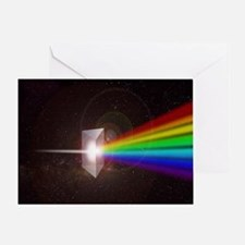 Prism Color Spectrum Greeting Card