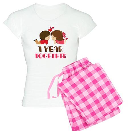 1 Year Together Anniversary Women's Light Pajamas